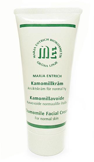 Marja Entrich kamille-dagkrem for normal hud