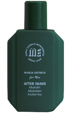 Marja Entrich after shave