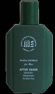 Marja Entrich after shave