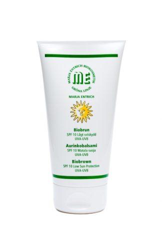 Marja Entrich Biobrun solkrem SPF 10