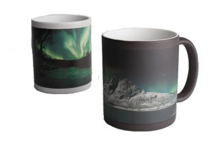 Magic Mug - Northern Light Products - snow covered mountains