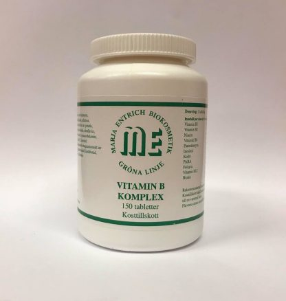 Marja Entrich Vitamin B komplex 150 tabletter-0