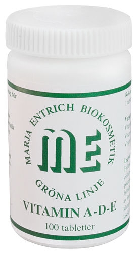 Marja Entrich Vitamin A-D-E 100 tabletter-0