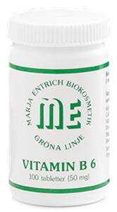 Marja Entrich vitaminer B6 100tabletter-0
